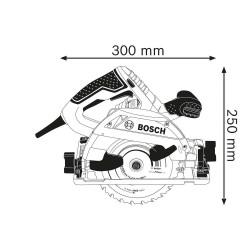 Fierastrau circular de mana Bosch GKS 55+ GCE