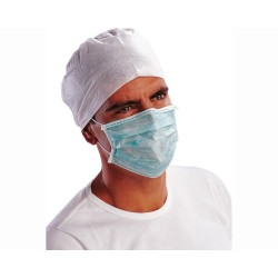 Masti de igiena tip medical cu 3 pliuri (50 buc.)