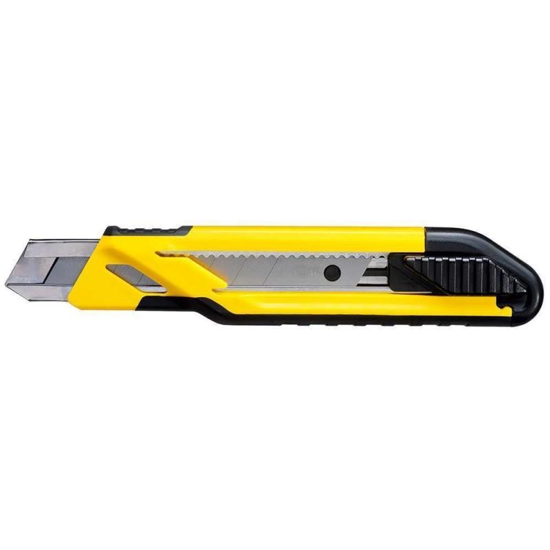 Cutter cu maner bimaterial la blister 18 mm Stanley