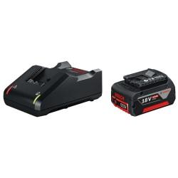 Set acumulator si incarcator Bosch GAL 18V-40 + GBA 18V 4.0 Ah