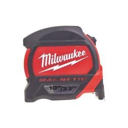 Ruleta cu magnet Premium sistem metric/imperial 10 m/33 ft Milwaukee