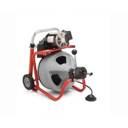 Dispozitiv Ridgid pentru desfundat scurgeri K-400AF, 230 V, W/C45