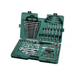 Trusa capete chei tubulare 1/4&Prime , 3/8&Prime , 1/2&Prime , metric si inch, 150 piese - Sata 09510