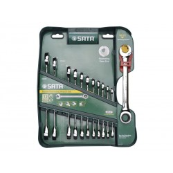 Set chei combinate 8-19 mm, 12 piese, Sata 09066
