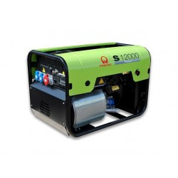Generator de curent trifazat Pramac S12000 + AVR + CONN + DPP