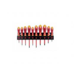 Set 10 surubelnite Felo Ergonic XL-Rack VDE 41491093