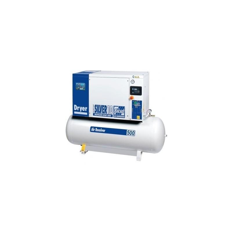 Compresor cu surub si uscator Fiac New Silver D 10/500