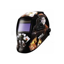 Masca automata pentru sudura IWELD FANTOM 4 Poker-Skull