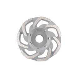 Disc diamantat DiaTehnik DryP MAX 125 mm pentru slefuire beton