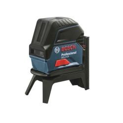 Nivela laser cu linii in cruce si 2 puncte Bosch GCL 2-15 cu stativ BT 150