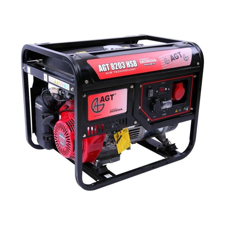 Generator curent AGT 8203 HSB TTL trifazat + Kit roti