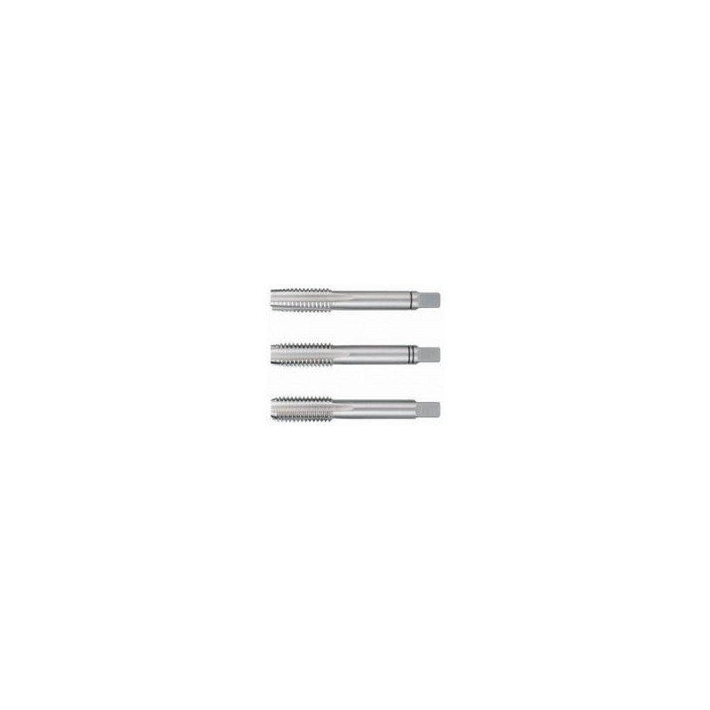 Set 3 tarozi Ruko DIN 352 HSS pentru filetare manuala M12x1.75mm