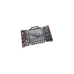 Trusa profesionala de scule pentru mecanici, 1/4'' si 1/2'', 110 piese, Crescent CTK110NEU2
