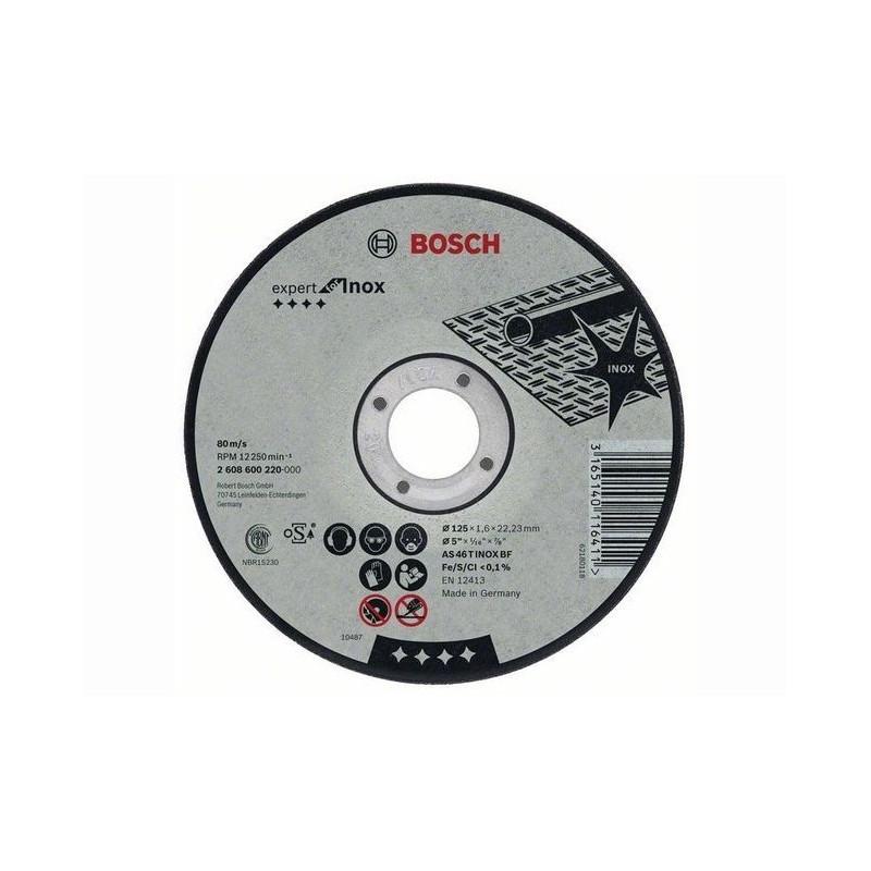 Disc de taiere inox Bosch 230x2 mm