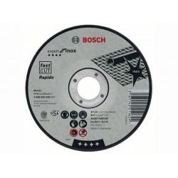 Disc de taiere inox Bosch 125x1 mm