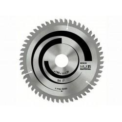 Panza de ferastrau circular Bosch Multimaterial 190x30,54/GKS 66