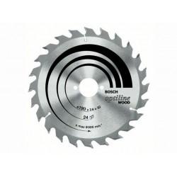 Panza de ferastrau circular Bosch Optiline Wood 160X20/16,24/PKS 54