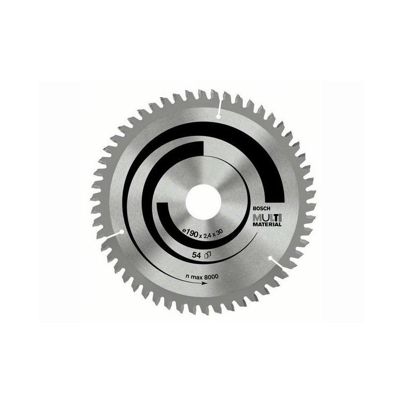 Panza de ferastrau circular Bosch Multimaterial 160x20/16,42