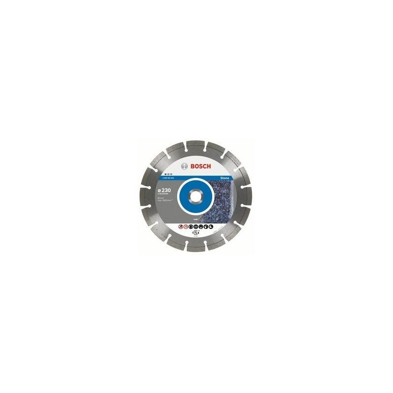 Disc diamantat Bosch pentru piatra 125 mm