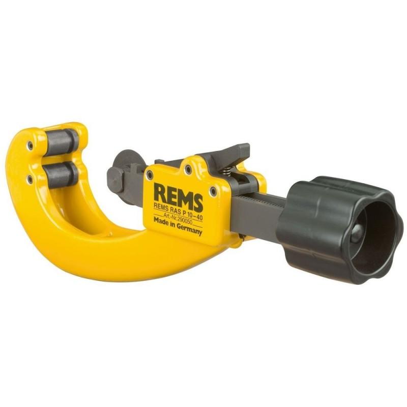 Taietor pentru tevi din plastic Rems RAS P 10-40 mm