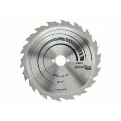 Panza de ferastrau circular Speedline Wood 160x16,18