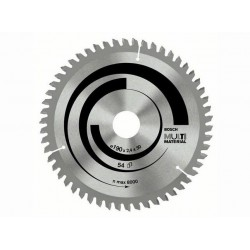 Panza de ferastrau circular Bosch Multimaterial 190x20/16,54