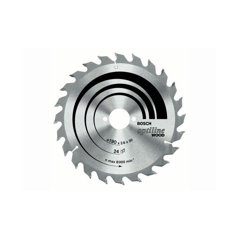 Panza de ferastrau circular Bosch Optiline Wood 230x30,36/GKS 85