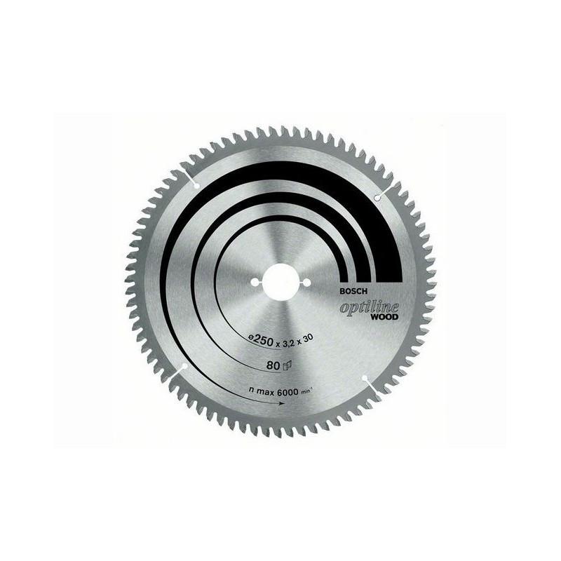 Panza de ferastrau circular stationar OptilineWood 254x30,60