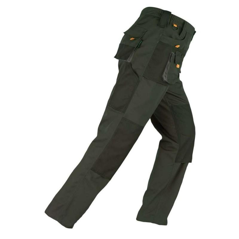 Pantaloni standard verzi Kapriol SMART