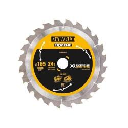 Panza de ferastrau circular Dewalt FlexVolt EXTREME 165x20,Z 24 DT99560-QZ