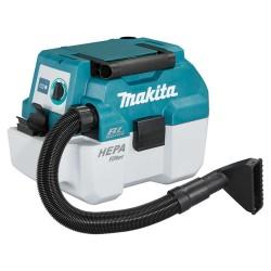 Aspirator portabil Makita compatibil cu acumulatori DVC750LZ