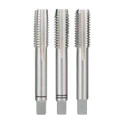 Set 3 tarozi pentru filetare manuala Ruko DIN 352 HSS 1/4''