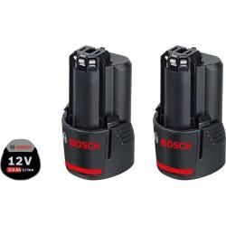 Set 2 acumulatori Bosch 12V Li-ion 3.0 Ah GBA 12V