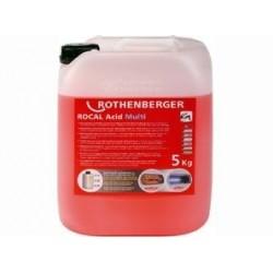 Agent de lucru Rothenberger Rocal Acid Multi 5 kg pentru decalcifiere
