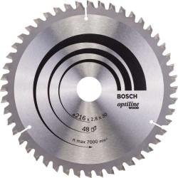 Panza de ferastrau circular Bosch Optiline Wood 216x30