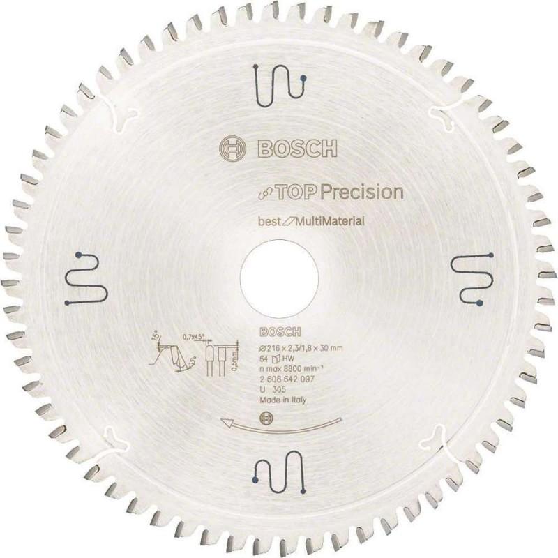 Panza de ferastrau circular Bosch Multimaterial 216x30