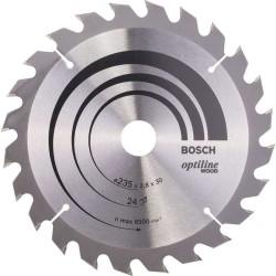Panza de ferastrau circular Bosch Optiline Wood 235x30,24 dinti