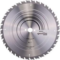 Panza de ferastrau circular Bosch Speedline Wood 400x30, 36 dinti