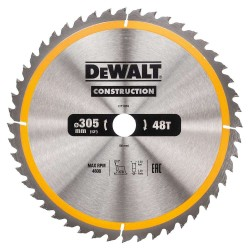 Panza de ferastrau circular Dewalt CONSTRUCTION 305x30,Z 48 DT1959